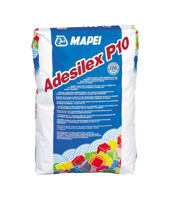 ADESILEX P10, sac 25kg Adeziv pe baza de ciment alb C2TE, Mapei