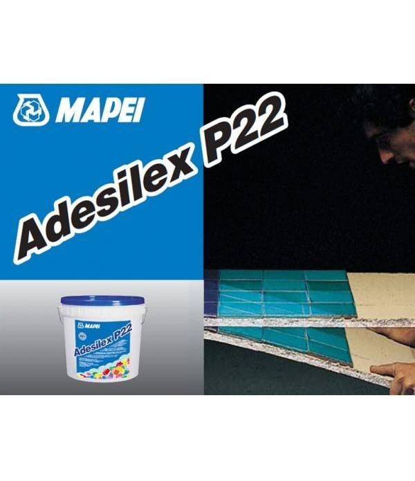 ADESILEX P22, galeata 5kg Adeziv in dispersie, elastic, fara alunecare, pentru interior. D1TE, Mapei