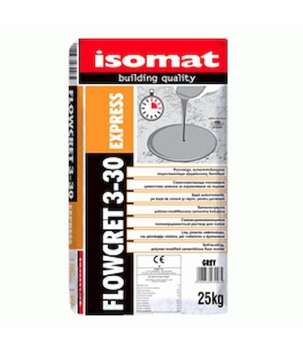 ISOMAT FLOWCRET 3-30 EXPRESS,Sapa de ciment cu ras...