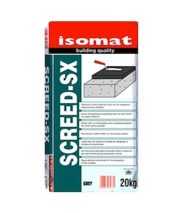 ISOMAT SCREED-SX, 20 kg, Mortar-liant, cu priza ra...