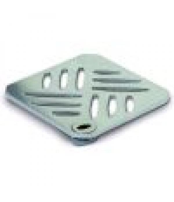 Sifon Kessel 27152, Cover, stainless steel, 120x12...