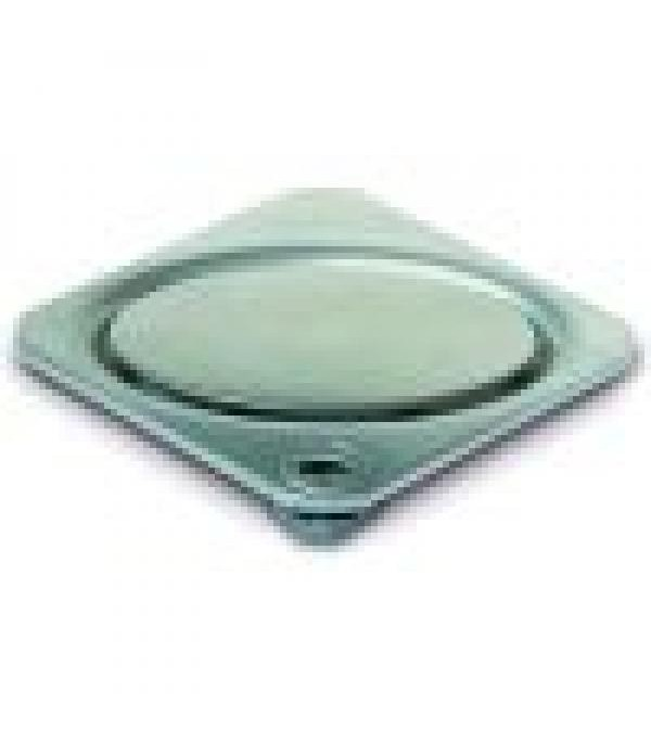 Sifon Kessel 27153, Oval cover, stainless steel, 1...