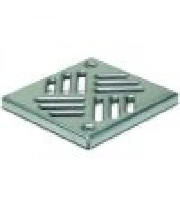 Sifon Kessel 27155, Cover, stainl. steel, 150x150m...