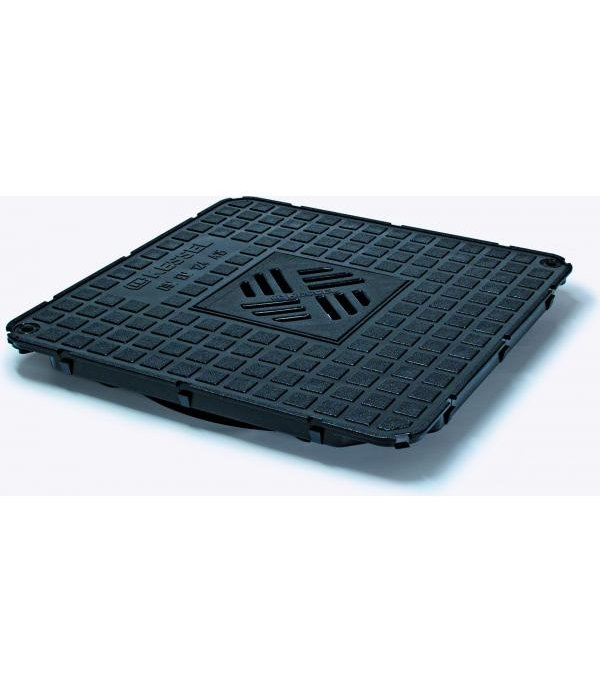 Sifon Kessel 83046, Cover plate water tight cl. A15 black