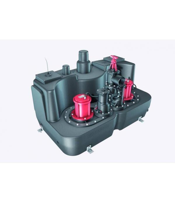 Pompa Kessel 11005, Aqualift F XL 1400W-S3 Duo 200...