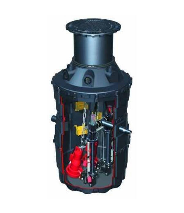 Pompa Kessel 865740D, Pumping unit Aqualift F mono...