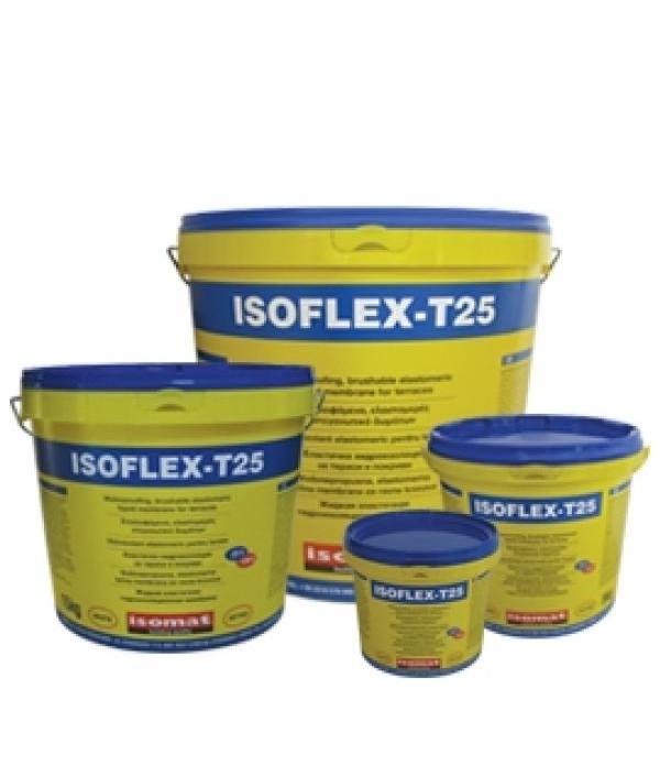 ISOFLEX-T 25 HIDROIZOLATIE PENTRU TERASE 15 kg