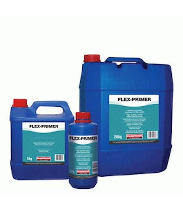 ISOMAT FLEX-PRIMER, MATERIAL HIDROIZOLANT PENTRU PERETI Grund acrilic pe baza de apa, 1 kg