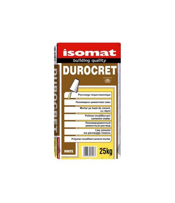 ISOMAT DUROCRET, MORTAR White 25 kg