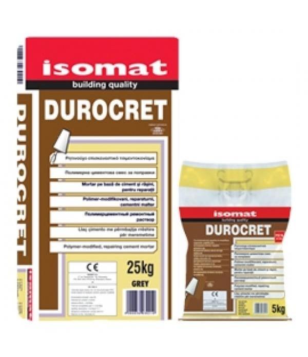 ISOMAT DUROCRET , MORTAR Redbrown 25 kg