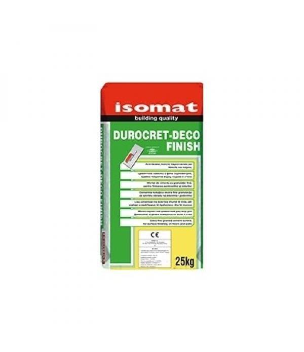 ISOMAT DUROCRET-DECO FINISH, MORTAR Crocus 25 kg
