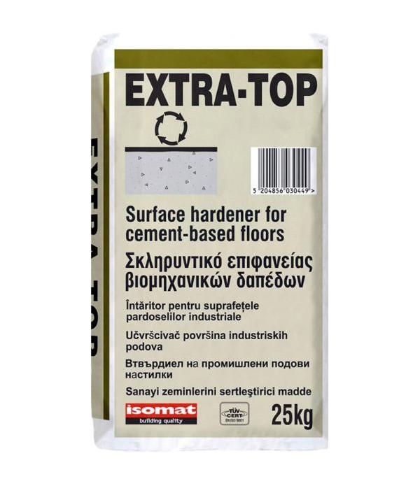 ISOMAT EXTRA-TOP, Redbrown 25 kg Intaritor pentru ...