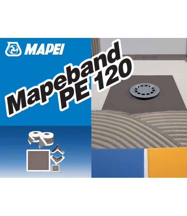 Mapei MAPEBAND PE120 rola 50m Banda elastica din P...