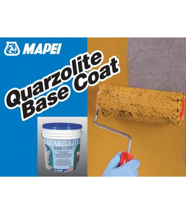Mapei QUARTZOLITE BASE COAT, galeata 20kg, Amorsa acrilica de aderenta colorata pentru Elastocolor si Quartzolite