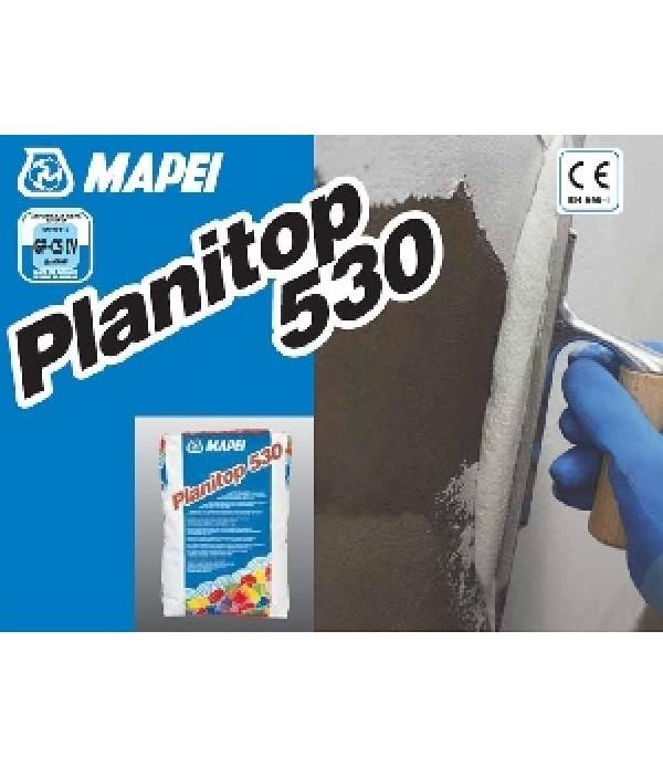 Mapei PLANITOP 530 GRI, sac 25kg, Glet pe baza de var-ciment pentru interior si exterior