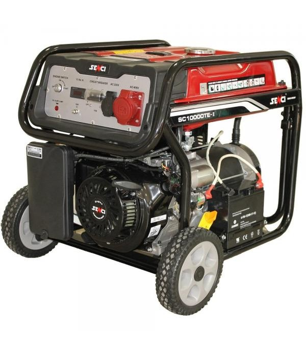 Generator de curent electric SENCI SC-10000TE dema...
