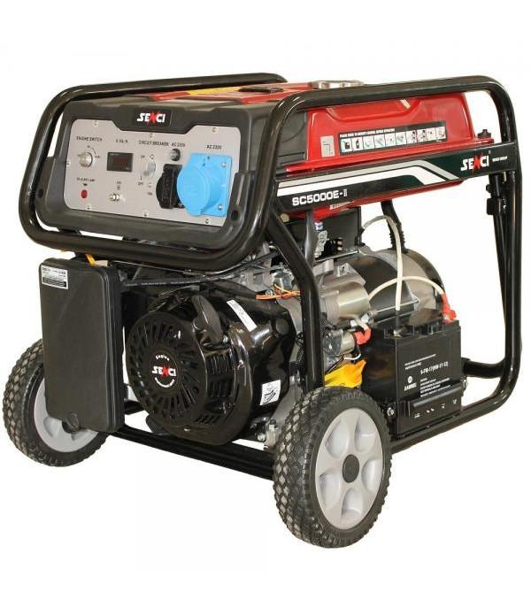 Generator de curent electric SENCI SC-5000E Putere...