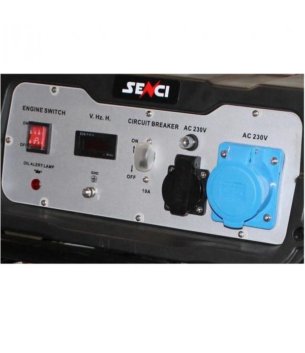 Generator de curent electric SENCI SC-5000 Putere max. 4,5kW , 230V-50Hz , Benzina