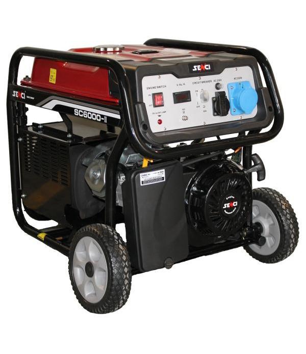 Generator de curent electric SENCI SC-6000E demara...