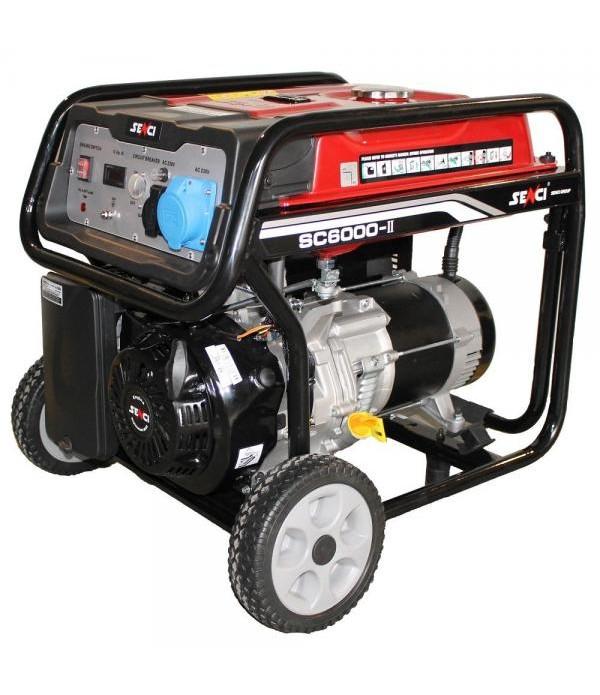 Generator de curent electric SENCI SC-6000 Putere ...