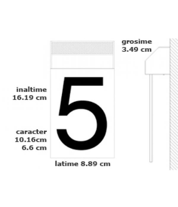 Numar Solar Matterinc - Litera A silver