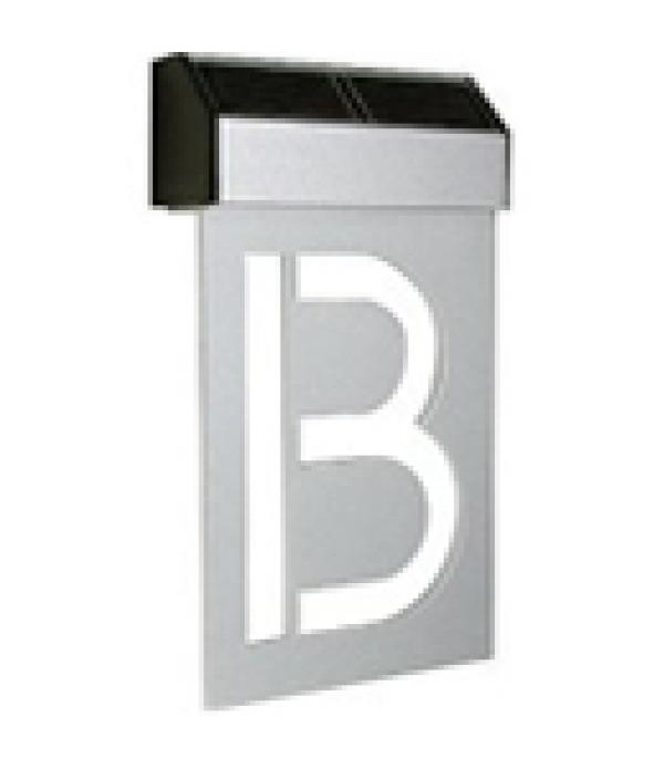 Numar Solar Matterinc - Litera B silver